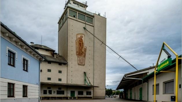 Das stolze Lagerhaus Absdorf-Ziersdorf soll einverleibt werden. (Bild: Imre Antal)