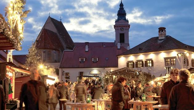 Weihnachtsmarkt in Rust im Burgenland: Die Hoffnung lebt.