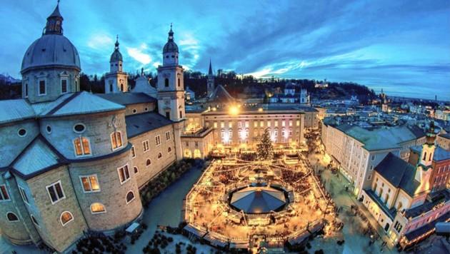 Christkindlmarkt in Salzburg: Stadttouristiker wollen ihn durchziehen.