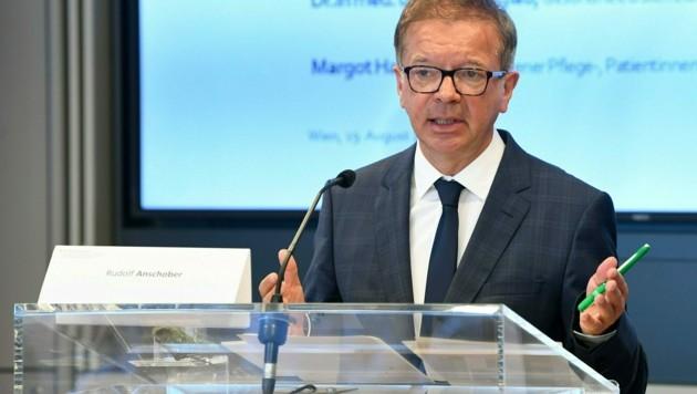 Gesundheitsminister Rudolf Anschober (Bild: APA/HELMUT FOHRINGER)