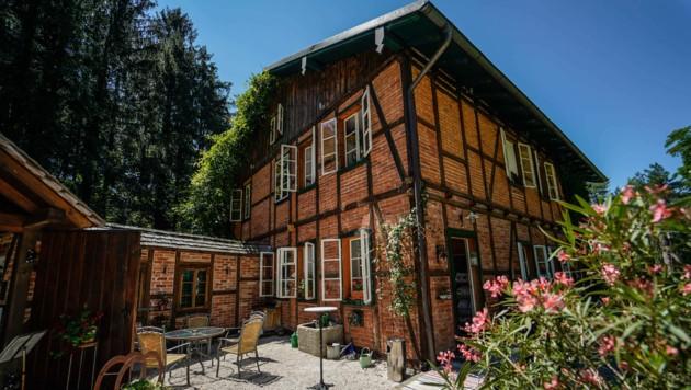 Haus mit langer Geschichte: die Villa Rosental