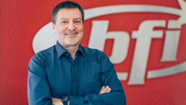 Horst Kremsmair, Geschäftsführer im BFI Salzburg