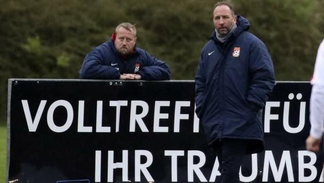 Schriebl (re.) schaffte mit Seekirchen Cup-Coup.