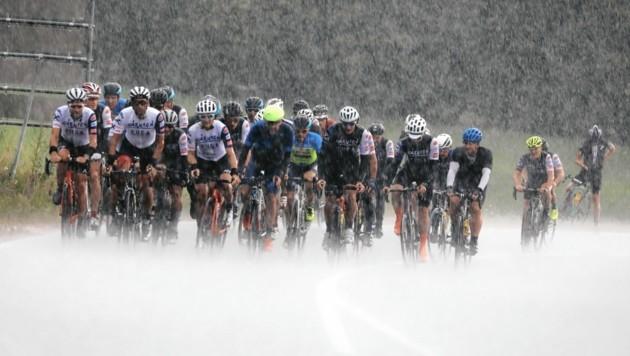 Die Fuga 300 trotzte Sturm und Starkregen (Bild: Wallner Hannes)