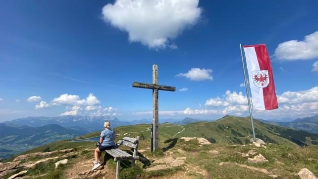 Zum Wandern gab es viele Gelegenheiten: Hier der Pengelstein in den Kitzbüheler Alpen (Bild: ZOOM.TIROL)