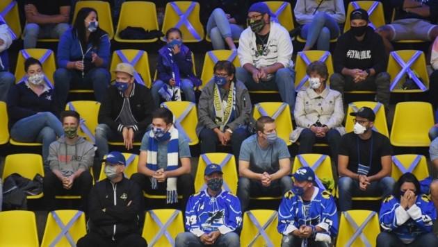 Zuschauer beim Sport. (Bild: F. Pessentheiner)
