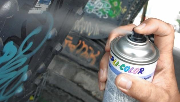 Unbekannte sprayten in Vasoldsberg Nazi-Symbole. (Bild: Martin Jöchl (Symbolbild))