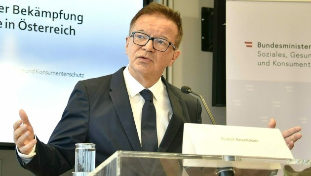 Gesundheitsminister Anschober