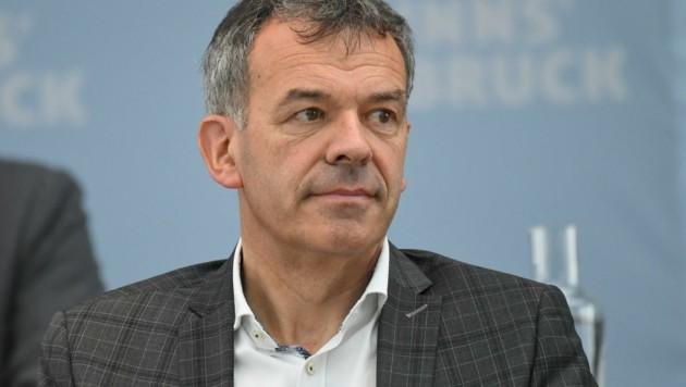 """BM Georg Willi: """"Innsbrucker wollten Veränderung!"""" (Bild: Erich Spiess)"""