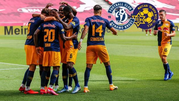 (Bild: GEPA, Dynamo Brest, Maccabi Tel-Aviv)