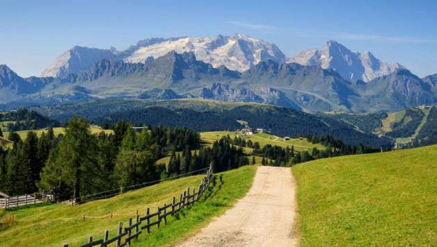 Der Marmolada-Gletscher in den Südtiroler Dolomiten hat in den vergangenen 70 Jahren mehr als 80 Prozent seines Volumens verloren.