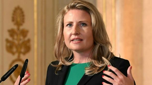 Integrationsministerin Susanne Raab (ÖVP) (Bild: APA/HELMUT FOHRINGER)