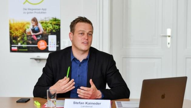 Landesrat Stefan Kaineder sieht jetzt die Chance für Umwelt. (Bild: Dostal Harald)