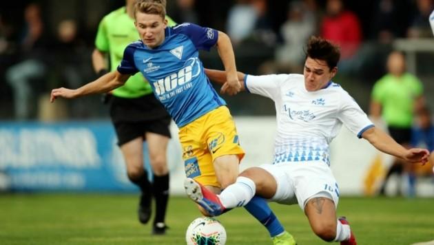 Die Regionalliga Salzburg (im Bild SAK und FC Pinzgau) wird ab 2022 mit 12 Vereinen gespielt. (Bild: Daniel Krug senior)
