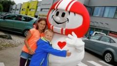 Helmi, die beliebte TV-Figur, war in Kärnten zu Besuch. (Bild: Rojsek-Wiedergut Uta)