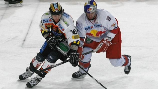 Patrick Harand (li.) spielte bereits für die Graz99ers. (Bild: Kronen Zeitung)