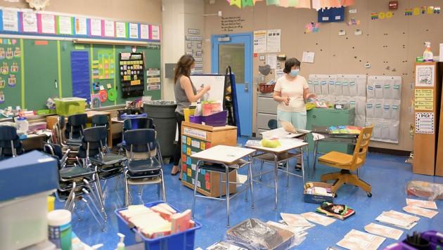 Die Vorbereitungen in den einzelnen Klassen laufen auf Hochtouren. (Bild: APA/AFP/Getty Images/Michael loccisano)