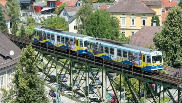 Der Betrieb der Citybahn in Waidhofen an der Ybbs ist ab Schulbeginn langfristig abgesichert (Bild: Növog/Werner Kerschbaummayr)