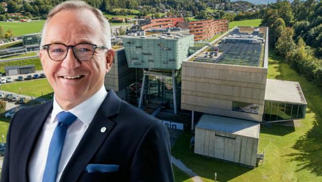 Raimund Ribitsch, Geschäftsführer der FH Salzburg (Bild: FH Salzburg)