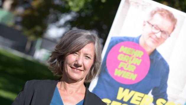 Die Grünen setzen bei ihren Plakaten für die Wien-Wahl auf die Beliebtheit von Gesundheitsminister Rudolf Anschober.