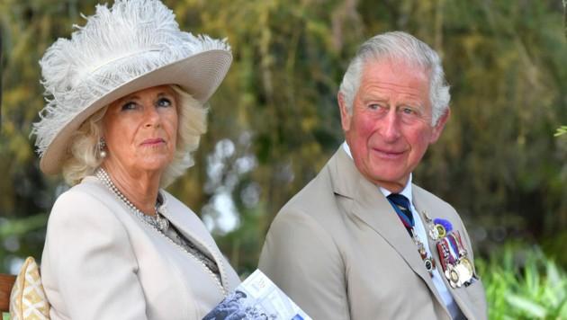 Prinz Charles mit Ehefrau Camilla (Bild: AFP)