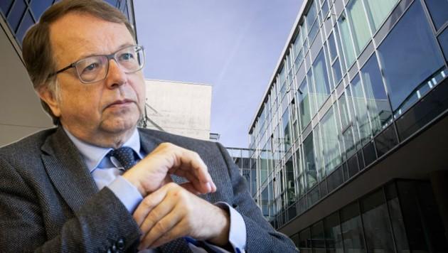 Uni-Rektor Hendrik Lehnert. (Bild: Tröster, Neumayr)