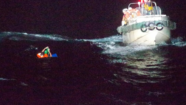 Japans Küstenwache im Rettungseinsatz