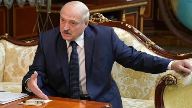 Der weißrussische Präsident Alexander Lukaschenko (Bild: AFP)