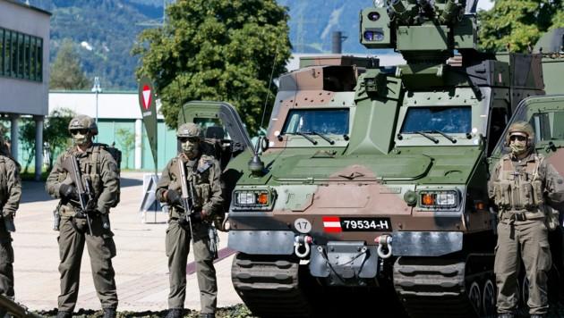 Das Gefechtsfahrzeug kann bis zu neun Personen transportieren (Bild: Mathis Fotografie)