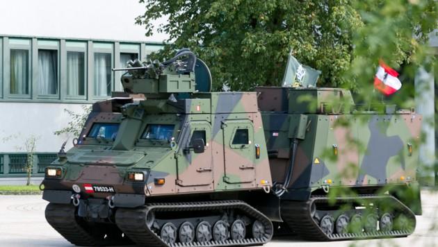 Das Fahrzeug ist speziell an die Bedürfnisse der österreichischen Gebirgstruppe angepasst. (Bild: Mathis Fotografie)