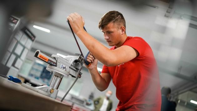 Mehr als 5000 Betriebe bilden in Oberösterreich Lehrlinge aus. (Bild: Markus Wenzel)