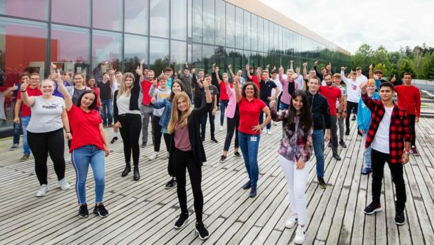 38 Lehrlinge begannen vor wenigen Tagen bei Fronius ihre Ausbildung. (Bild: Fronius)