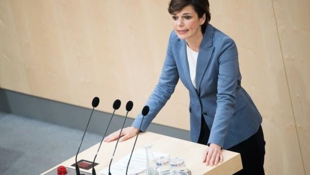 SPÖ-Chefin Pamela Rendi-Wagner (Bild: EXPA/ Michael Gruber)