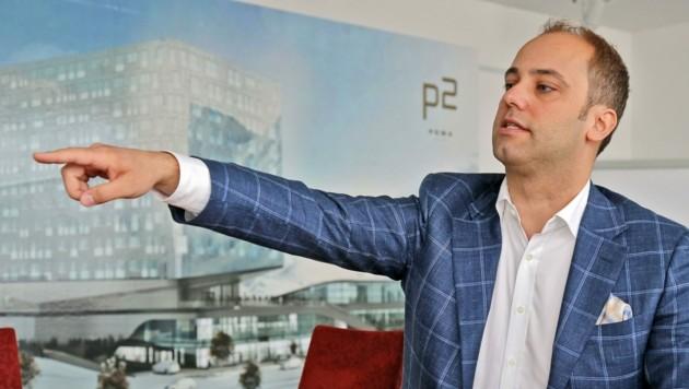Unternehmer Markus Schafferer wollte Aktien des Oligarchen und Chelsea-Eigentümers Roman Abramowitsch kaufen. (Bild: Christof Birbaumer/Kronen Zeitung)