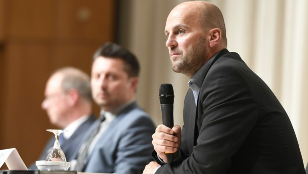 Marcel Maierhofer, Leiter der Mordkommission (Bild: APA/dpa/Roberto Pfeil)