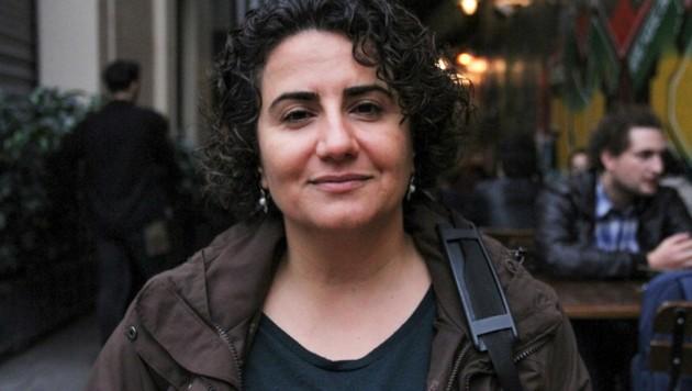 Ünsals Kollegin Ebru Timtik starb vor einer Woche nach 238 Tagen im Hungerstreik in Istanbul. (Bild: APA/AFP/Zeynep KURAY)