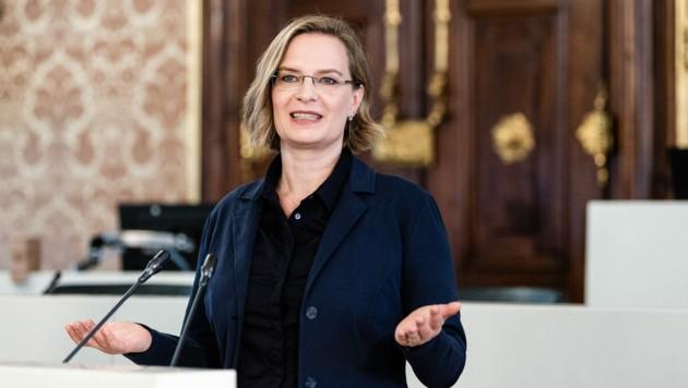 Veronika Nitsche (Grüne) (Bild: © Philipp Podesser)