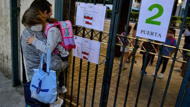 Zum Kindergarten- und Schulstart in Spanien stieg die Zahl der Corona-Neuinfektionen auf einen Höchststand seit dem Ende des Lockdowns. (Bild: Copyright 2019 The Associated Press. All rights reserved)