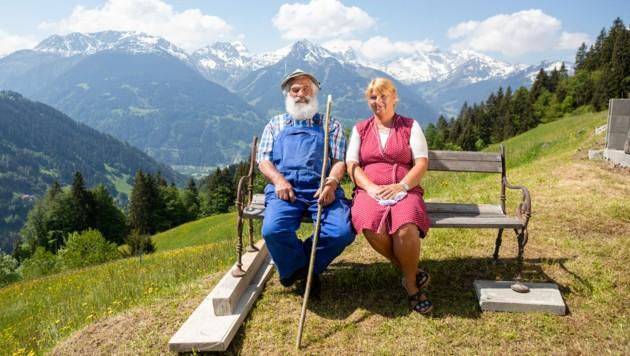Das Montafoner Kult-Pärchen Hermann und Isolde ist wieder zurück! (Bild: www.stefankothner.at)