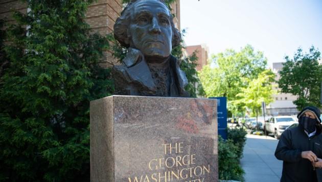Wirbel wegen Identitätsschwindel an der George-Washington-Universität in der US-Hauptstadt (Bild: APA/AFP/SAUL LOEB)