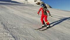 Vorarlbergs letzte Siegerin einer Weltcupabfahrt, Christine Scheyer, wagte nach einer mehrmonatigen Verletzungspause in Sölden ihre ersten Schwünge. (Bild: Österreichischer Skiverband)