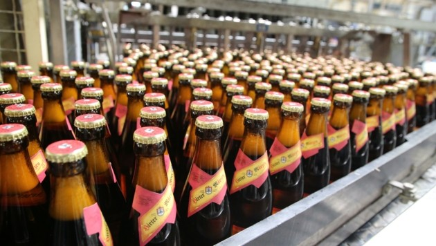 30 Millionen Biere produziert die Hirter Brauerei jährlich. (Bild: Hronek Eveline)