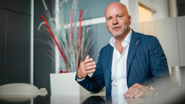 Vor 22 Jahren gründete Dietmar Malli TSC, ursprünglich als Beratungsfirma. (Bild: Markus Wenzel)