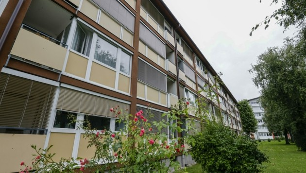 Jener Unbekannte, der Eleonore A. in ihrer Wohnung in Salzburg-Maxglan erstochen hat, läuft noch frei herum. (Bild: Tschepp Markus)