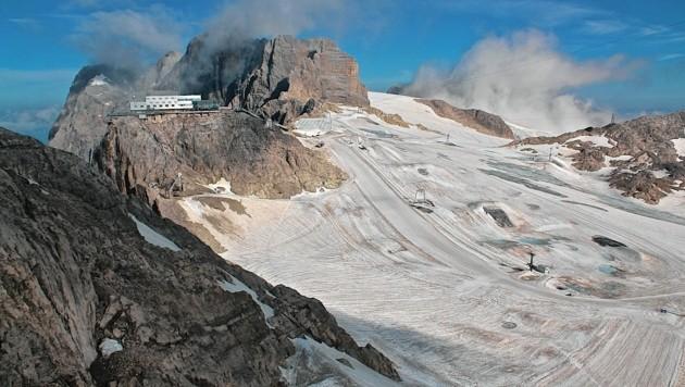 Der Dachstein (Bild: Hannes Wallner)