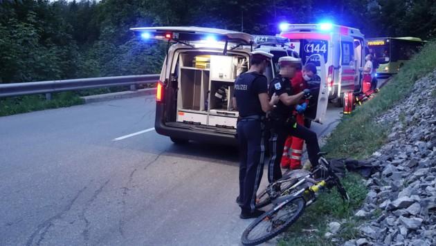 Beim Unfall in Mayrhofen wurde ein 58-Jähriger schwer verletzt. (Bild: zoom.tirol)