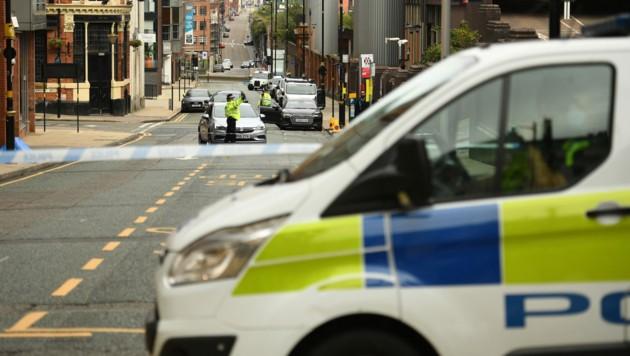 Augenzeugen berichteten über eine mögliche Auseinandersetzung zwischen Jugendbanden. (Bild: APA/AFP/Oli SCARFF)