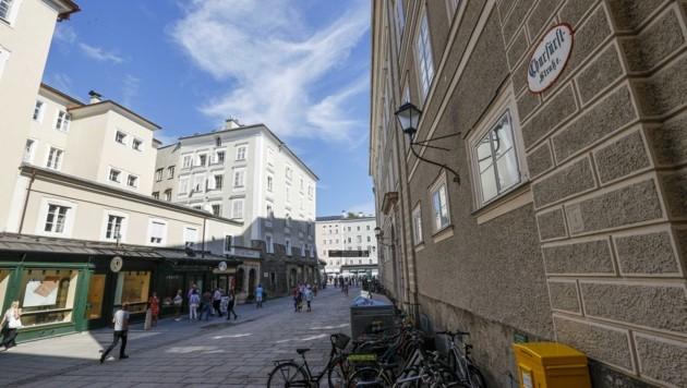 Witwe Hanna Feingold wünscht sich die Umbenennung der Churfürststraße im Herzen der Salzburger Altstadt.