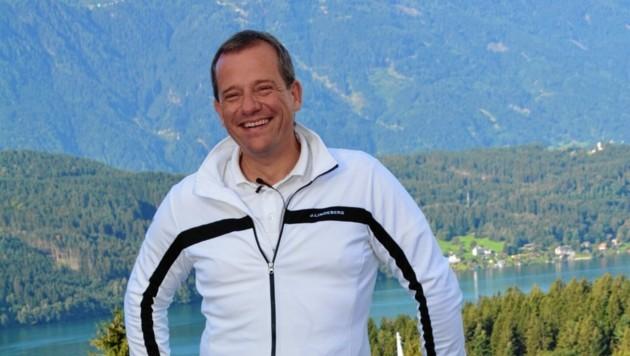"""""""Stimmung, Austausch und Sportsgeist waren in Millstatt top. Alle blicken nun auf das Cup-Finale im Golfpark Klopeinersee"""", so Mediaprint-Organisator Wolfi König. (Bild: Wolfgang Vaschauner)"""