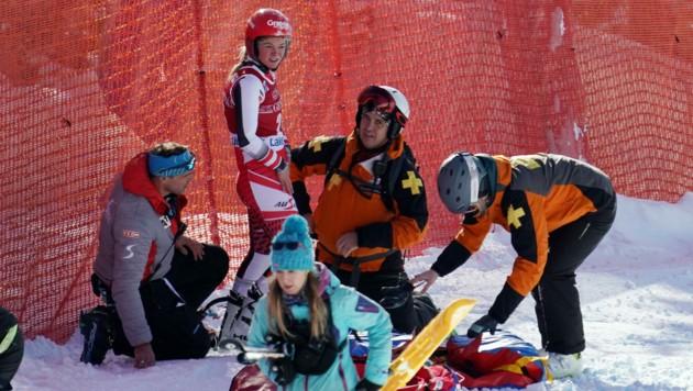 Am 5. Dezember 2019 war Ariane Rädler beim Abfahrtstraining im kanadischen Lake Louise schwer gestürzt und hatte sich einen Kreuzbandriss zugezogen. (Bild: EXPA Pictures)